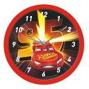 ディズニー カーズ Disney Cars 掛け時計 直径24cm ウォールクロック Wall Clock