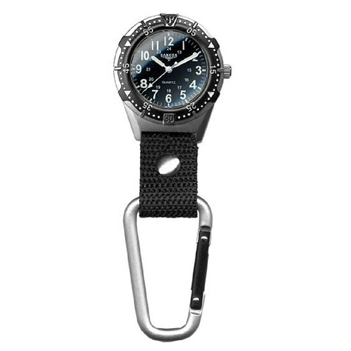 3針 カラビナウォッチ Aluminum Backpacker Clip Watch  2844