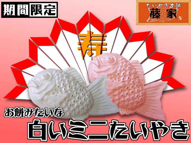 お餅のような食感 白いたいやき 和菓子...:siroitaiyaki:10000504