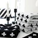 RoomClip商品情報 - 北欧 フェイス タオル 【フェイスタオル】クロス柄 フェイスタオル