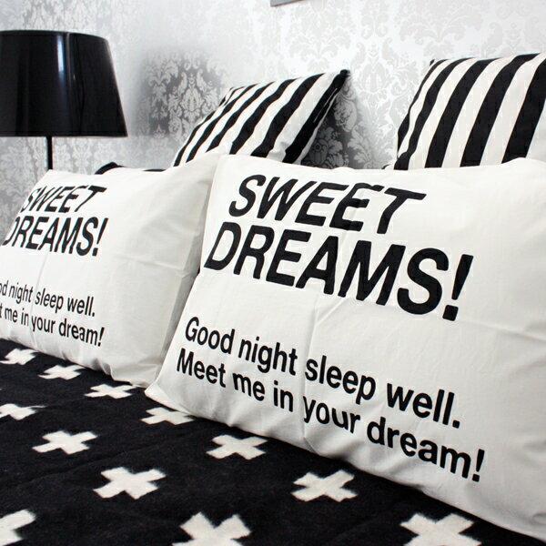 RoomClip商品情報 - ピローカバー 【白黒】SLEEP ピローカバー