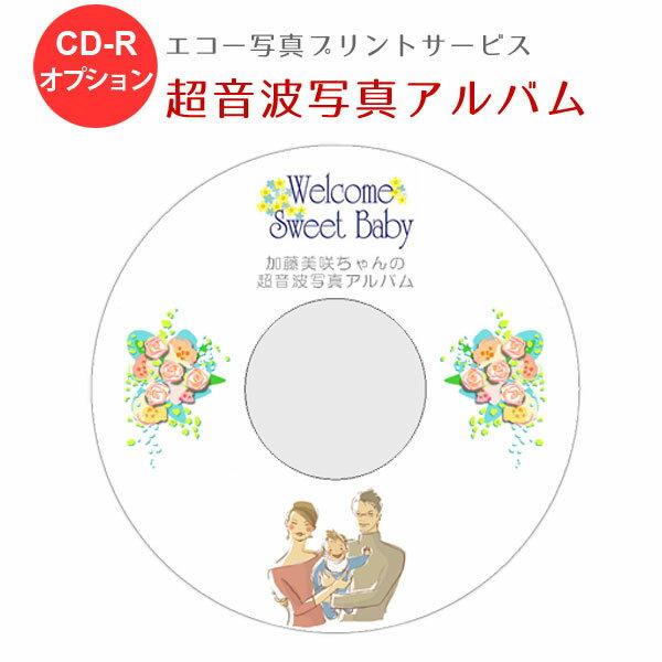 【オプション】超音波写真アルバム画像データ CD-R 超音波写真アルバム(バリュー・ベーシック・スペシャル)ご購入いただいたお客様が追加で購入できる商品です