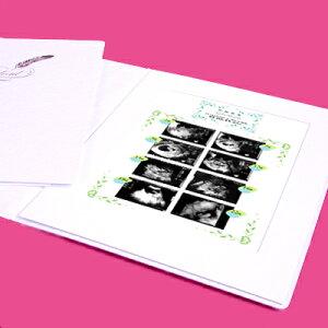 超音波写真アルバム,妊娠,出産祝い,プレママ,超音波検査