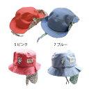 【ネコポス対応】【SiShuNon/SKAPE】折返花柄ハット エスケープ ベビー キッズ 花柄 フラワー ハット帽子
