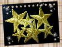 金星ワッペン「6枚セット」(小3枚、大3枚)【ネコポスOK】【アイロン接着】【スター】【star】【コスプレ】【衣装】【入園入学】