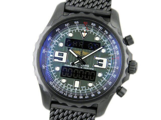 ブライトリング メンズ腕時計 クロノスペース ブラックスチール M785L21ACB 【】【対応_東海】【05P03Sep16】