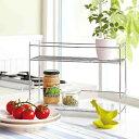 ASPLUND(アスプルンド)マーブルスモールキッチンラック(2段式キッチン収納棚 シンプル ミニマル)の写真