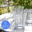 【セール】DURALEX(デュラレックス)PRISME 1550 220cc 6個セット(プリズム 220cc)(ガラス コップ セット 焼酎 ウイスキー カフェ おしゃれ )【ギフト・返品不可】【10P01Oct16】