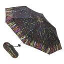 【送料無料】UVカットしてくれる晴雨兼用折り畳み傘限定色☆Knirps(クニルプス)/X1 折り畳み傘/RAIN ART BK(レインアート/ブラック)【楽ギフ_包装】【smtb-F】