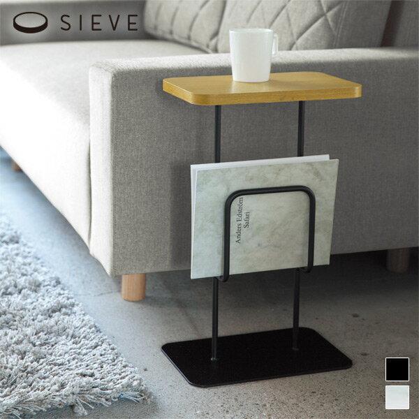 SIEVE(シーヴ)antenna side table(アンテナ サイドテーブル)(テーブル 木製 ソファ 北欧 ナチュラル シンプル ミニマル カフェ おしゃれ)