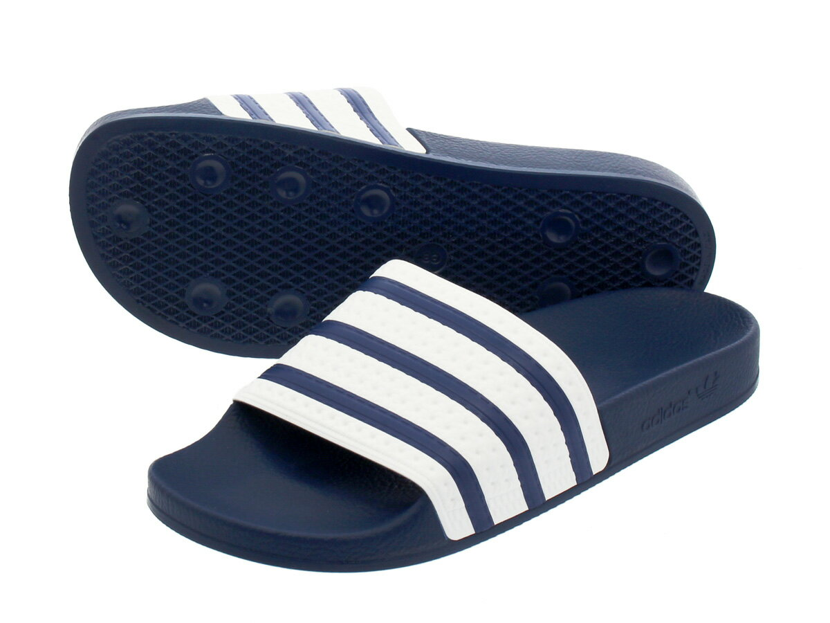 adidas ADILETTE 【adidas Originals】 アディダス アディレッタ ADI BLUE/WHITE