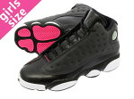 NIKE AIR JORDAN 13 RETRO GG ナイキ エア ジョーダン 13 レトロ GG BLACK/ANTHRACITE/HYPER PINK/WHITE