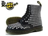 【大人気の女の子サイズ♪】 Dr.Martens 1460 WOMENS 8HOLE BOOT R11821410 ドクターマーチン スパイク オール スタッド ブーツ BLACK