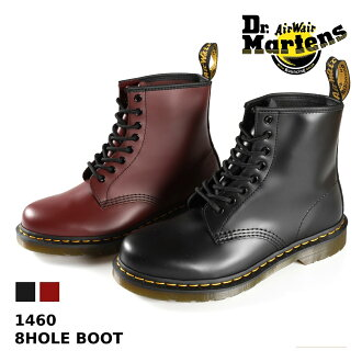 Dr.Martens 8HOLE BOOT 1460 Dr. Martens 8 hole boots BLACK (11822006) /CHERRY (11822600).