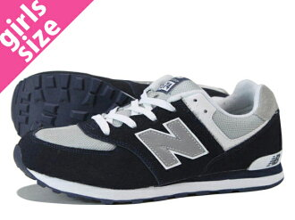 NEW BALANCE KL574NWG NAVY/GREY