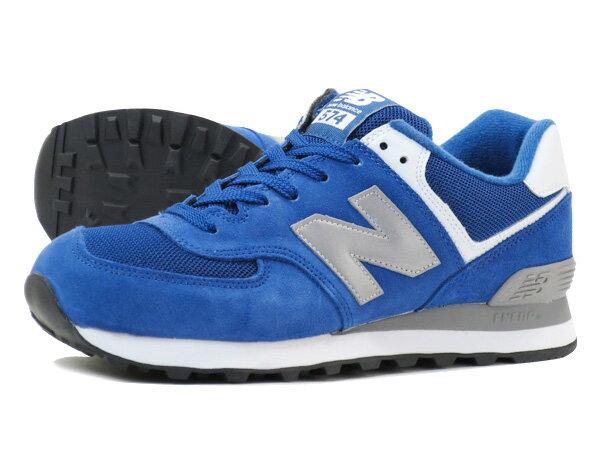new balance 574 blue grey