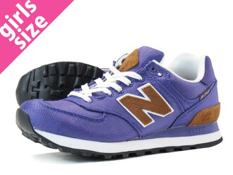 NEW BALANCE WL574BPV-new balance WL574BPV PURPLE/BROWN