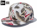 NEW ERA 9FIFTY BOTANICAL 【SNAPBACK】 ニューエラ 9FIFTY ボタニカル WHITE