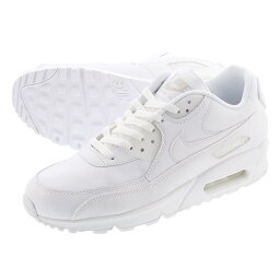 NIKE AIR MAX 90 LEATHER <strong>ナイキ</strong> エア マックス 90 レザー WHITE/WHITE 302519-113