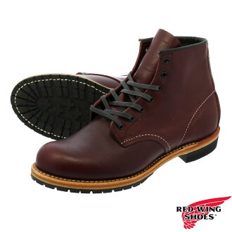 RED WING BECKMAN BOOT ROUND TOE BLACK CHERRY 9011