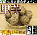 里芋 サイズ混合10kg(千葉県 生産者連合デコポン)有機JAS無農薬野菜・送料無料・産地直送