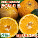 伊予柑(いよかん) B品 2.5kg(佐賀県 佐藤農場株式会社) 農薬不使用 柑橘 送料無料 産地直送