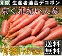 有機JAS 京くれない人参 B品10kg箱(千葉県 生産者連合デコポン)無農薬にんじん・送料無料・産地直送