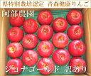 ジョナゴールド 訳あり5kg箱(14〜23玉)(青森県 阿部農園)特別栽培減農薬りんご・送料無料・産地直送・規格外