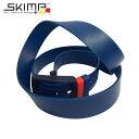 ラバーベルト ゴルフ 乗馬 旅行 ダンス 金属アレルギー シリコンベルト ベルト フランスブランド SKIMP BELT Originale ダークブルー (紺 青)