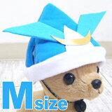 折り紙風 カブト帽子 Mサイズ (チワワ 小型犬 かぶりもの 犬用 コスプレ 節句 兜)【05P26Apr14】