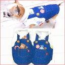 【チワワ 洋服】オーバーオール風TOYタンク クール×クールプラス (チワワ 小型犬 ドッグウェア 犬服 ペット服 ひんやり 冷感)