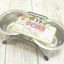 【チワワ フードボウル】ツイン食器 【フードボウル チワワ 小型犬 ペット 犬 エサ 餌入れ】