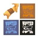 【チワワ マナーベルト パンツ】SkipDog!マナーベルト WANTED 【チワワ 小型犬 ペット用 マナーベルト マナーパンツ おむつ マーキング】