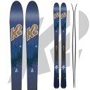 K2 ケーツー 17-18 スキー Ski 2018 Wayback 82 ウェイバック 82 [板のみ] ロッカー オールマウンテン バックカントリー (-):