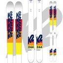 K2 ケーツー 17-18 スキー Ski 2018 244 [板のみ] モーグル: [pt0]