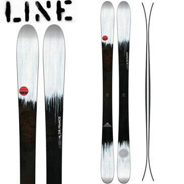 LINE ライン 17-18 スキー Ski 2018 Sir Francis Bacon サーフランシスベーコン [板のみ] ロッカー パウダー フリーライド: [2018pt0]