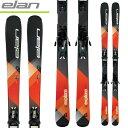 ELAN エラン 17-18 スキー ski 2018 EXPLORE 6 ORANGE エクスプローラー6 オレンジ EL 9.0 (金具付き) オールマウンテン 初中級: 2018pt0