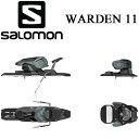 16-17 SALOMON サロモン ビンディング 2017 金具 ワーデン11 WARDEN 11(Darkgrey-Black) フリーライド オールラウンド (-):