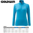 GOLDWIN ゴールドウィン W's Heat Stretch Long Shirt 〔Women's スキーウェア インナージップフリース〕 (CL):GL51561P