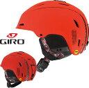 [送料無料] GIRO(ジロ)RANGE MIPS レンジ ミップス 〔スキー・スノーボードヘルメット 17/18 〕 (Matte-Vermillion-Arte-Sempre):7082388