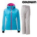 GOLDWIN ゴールドウィン 2015/2016 レディース スキーウェア 基礎 DEMO W's Radical Jacket & W's Radical Pants (CL×PH):GL11503P GL..