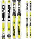 スキー 旧モデル 特価デモ ヘッド スキー板 HEAD 2016 W.C. REBELS i.SPEED / SPEEDFLEX PLATE 13【BDG:FREEFLEX PRO 14金具付】レース入門・基礎スキー中・大回り用[pd滑_ski]