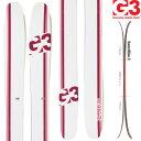 G3 ジースリー 13-14 スキー Empress 115 エンプレス115 (板のみ) レディース パウダー ツアー テレマーク 【送料無料】[pd滑_ski]