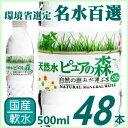 【送料無料】国産ミネラルウォーター 天然水 ピュアの森 500ml×48本...