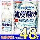 【送料無料】サンガリア 伊賀の天然水 強炭酸水 プレーン 5...