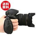 ハンドストラップ グリップストラップ カメラグリップ ベルト手首を完全固定!Canon/Nikon/...