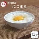 お米 5kg 岡山県産にこまる 5kg1袋 令和元年産 送料無料