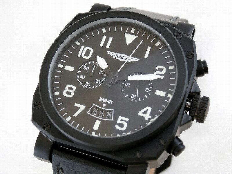 (トリンテック) Trintec IDENT Instrument Inspired Aviator 腕時計 #NAV-01 【※在庫あり・即納可】