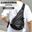送料無料 SWISSWIN ボディバッグ 撥水 スイスウィン 8L ボディバッグ メンズ レディース...