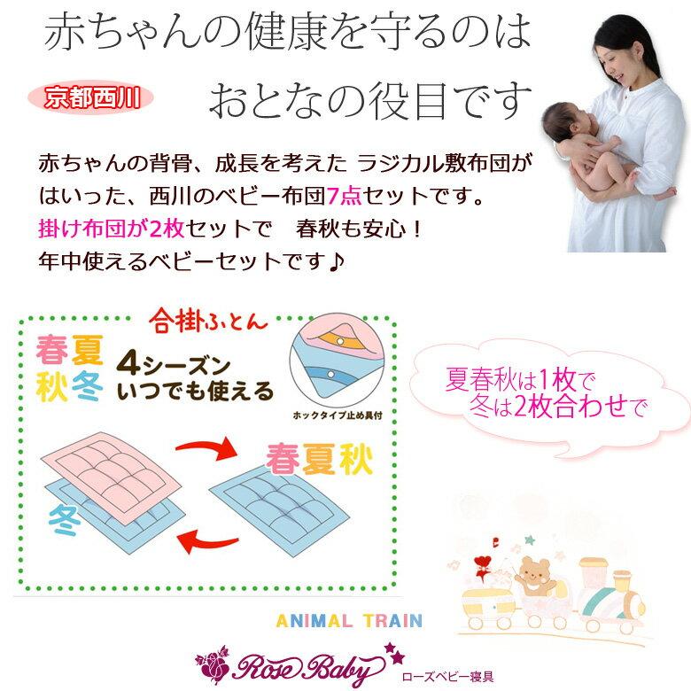 西川 オールシーズン対応 ベビー布団 ラジカル...の紹介画像2